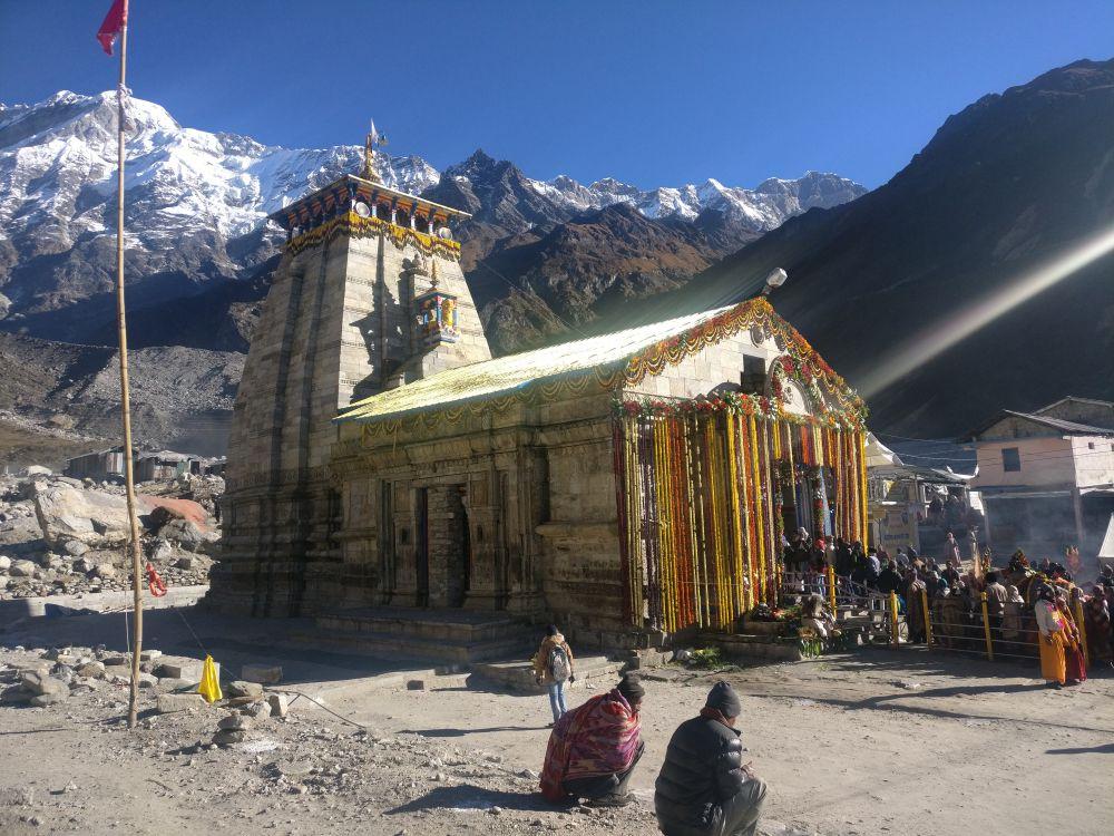 More than 4.5 lakh pilgrimage arrived in Kedarnath this season. Credit: Rohit Joshi