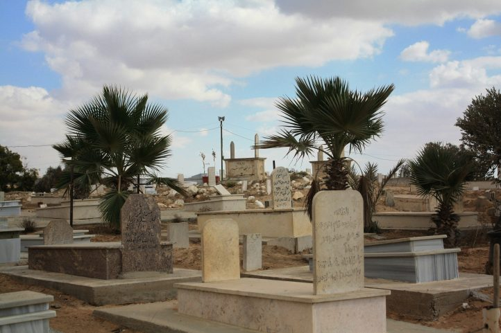 A tribal cemetary is most of what remains of al-Araqib, a Bedouin village that Israeli authorities have demolished over 100 times. (Credit: Aniqa Raihan)