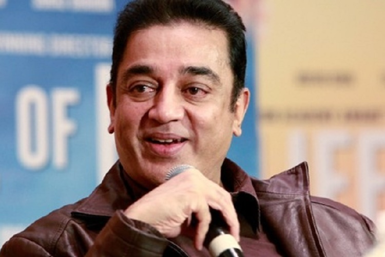 Kamal Haasan Charged With Defamation for 'Hindu Terror' Remark