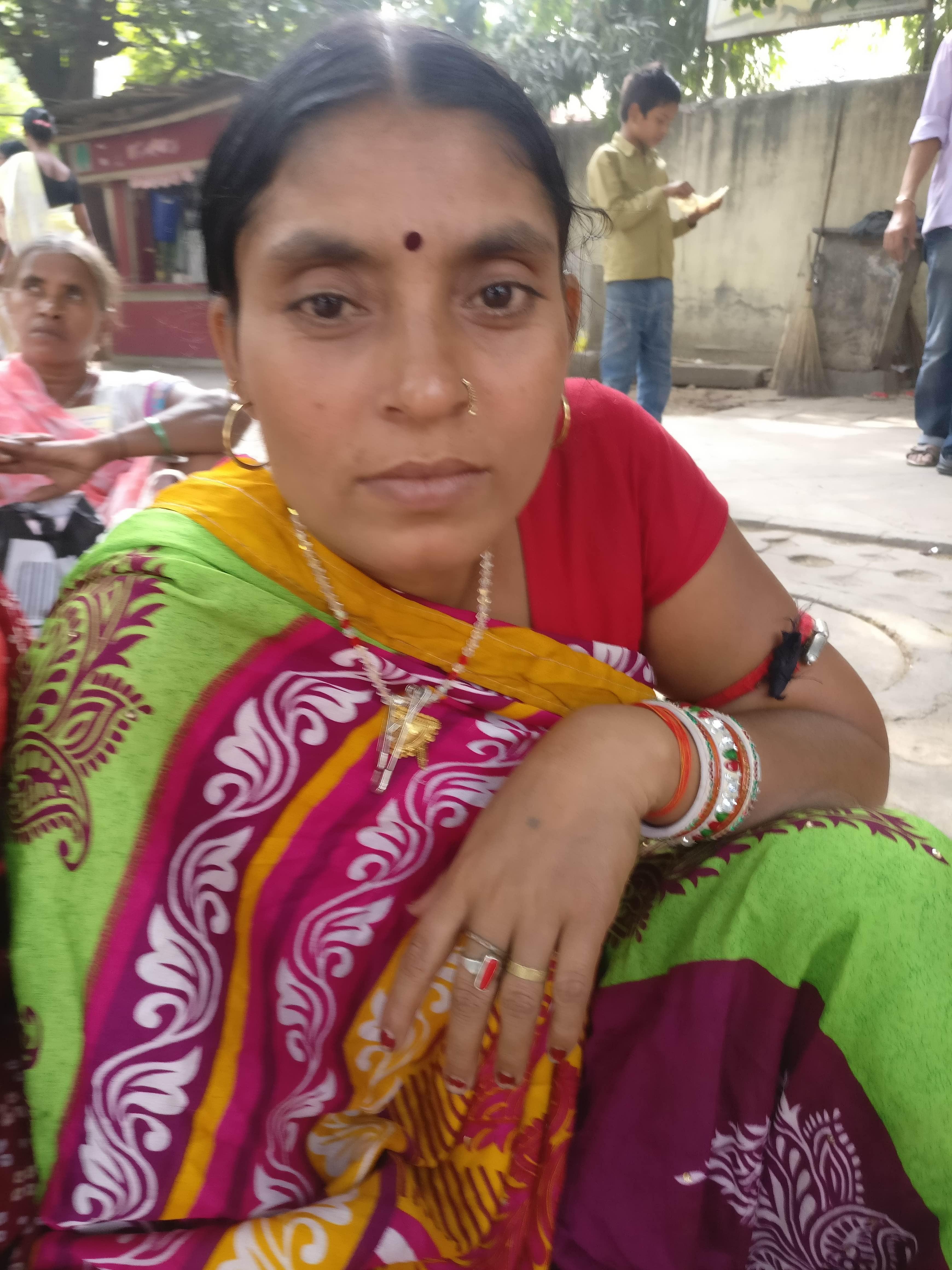 Lakshmaniya Devi. Credit: Ajoy Ashirwad Mahaprashasta/The Wire