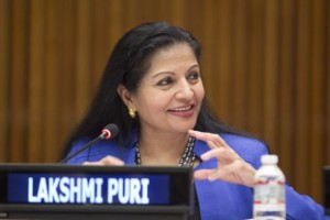 Lakshmi Puri. Credit: UN Photo/Rick Bajornas
