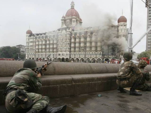 Security forces during the 26/11 attack. Credit: Reuters