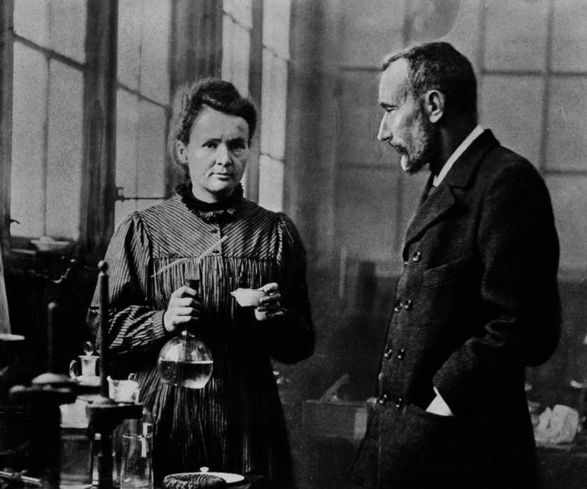 Portrait of Marie Curie and Pierre Curie. Credit: Wikimedia Commons