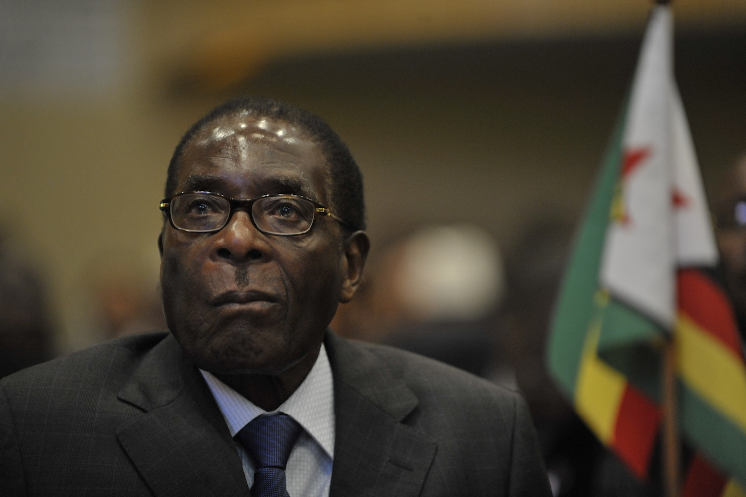 The Army has promised a bloodless rebellion against President Robert Mugabe, but there's good reason to doubt their claims. Credit: Wikimedia Commons