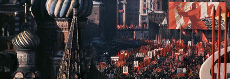 How Moscow Celebrated 50 Years of the Russian Revolution in 1967