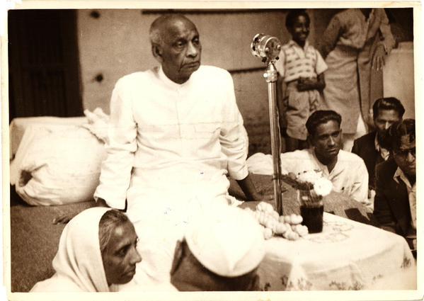 Sardar Vallabhbhai Patel. Credit: Wikimedia Commons