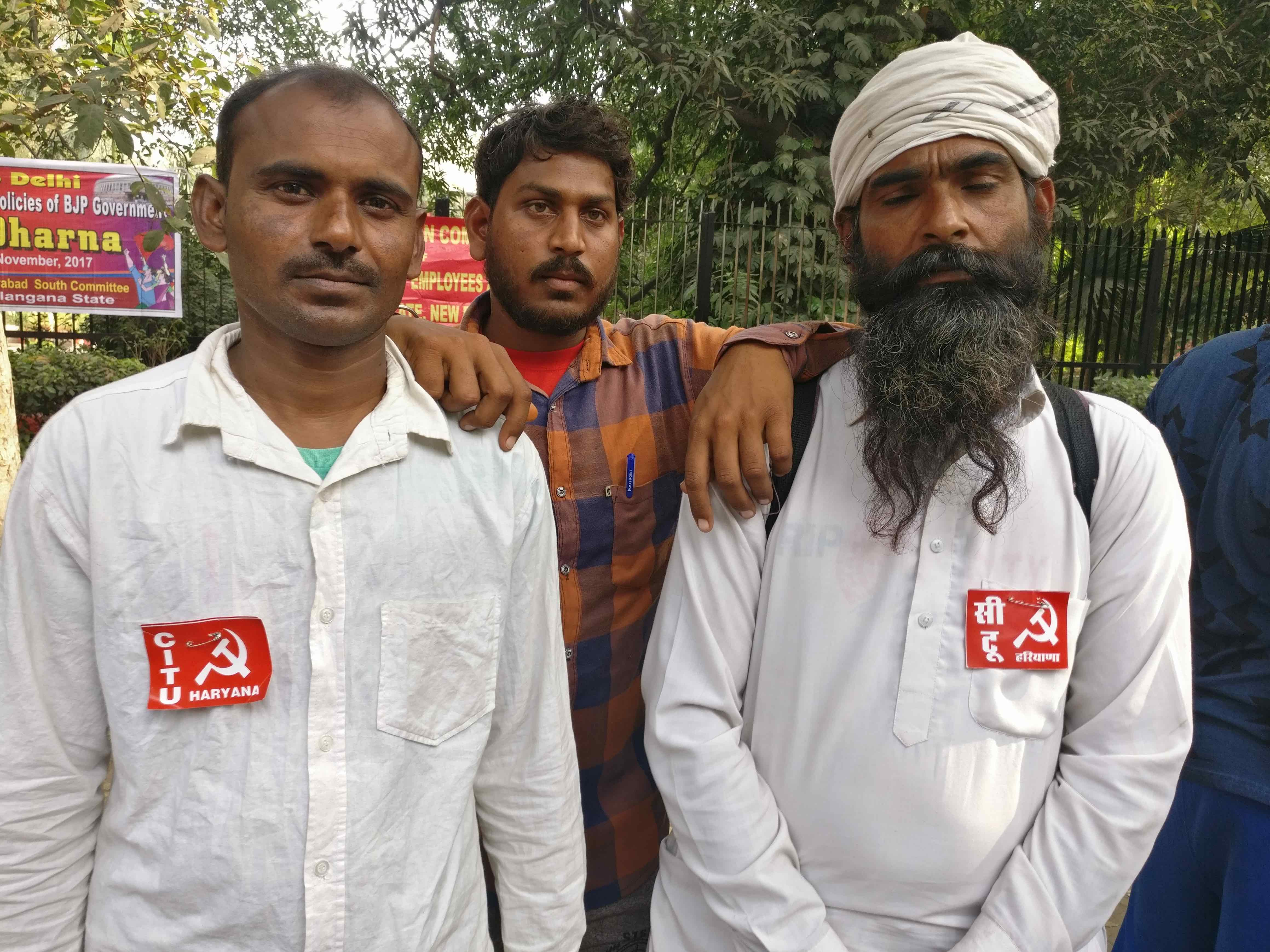 Sarvan Kumar (right). Credit: Ajoy Ashirwad Mahaprashasta/The Wire