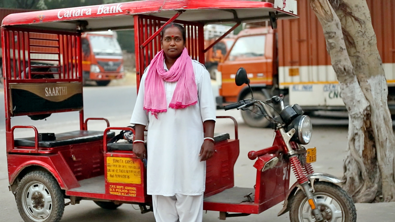 Watch: The Story of Binota Gayen, First Woman E-Rickshaw Driver in Govindpuri