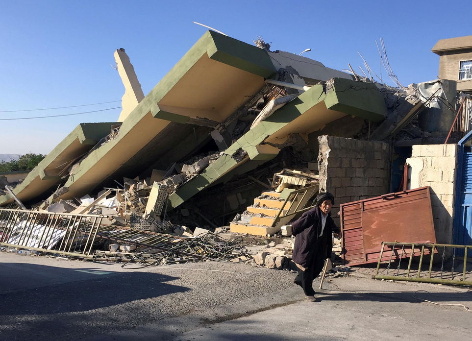 Iran-Iraq Earthquake: At Least 332 People Killed, 2,500 Injured
