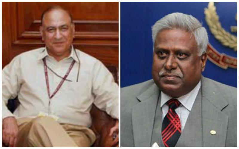 Anil Goswami and Ranjit Sinha. Credit: PTI