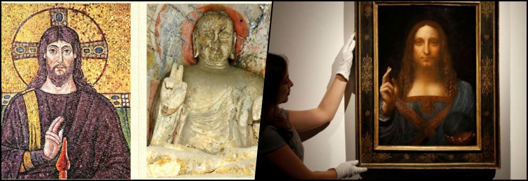 What a Buddhist 'Mudra' in Da Vinci's Christ Tells Us of Cross-Cultural Influences in the Ancient World