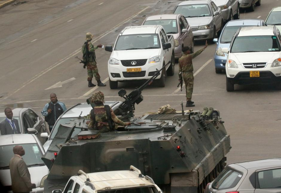 Zimbabwe Beware: The Military Is Looking After Its Own Interests, Not Democracy