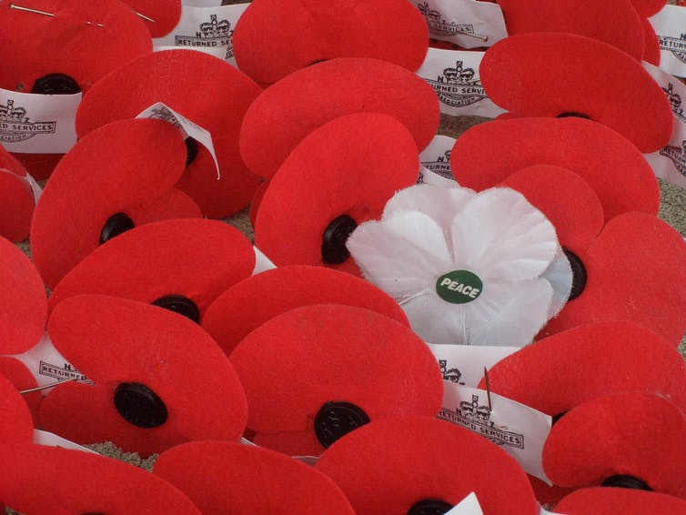 Flowers, Remembrance and the Art of War