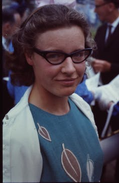 Jocelyn Bell Burnell, who discovered the first pulsar. CC BY-SA
