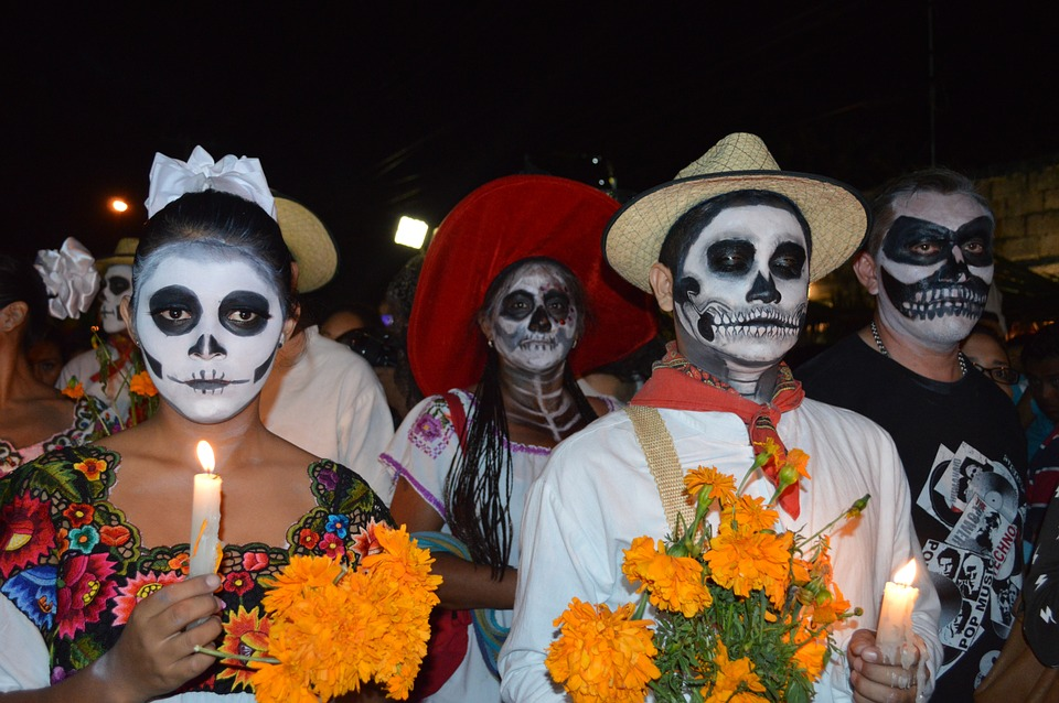 Mexican Women Protest Violence on Eve of Day of Dead