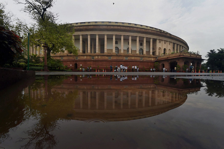 A view of the parliament. Credit: PTI