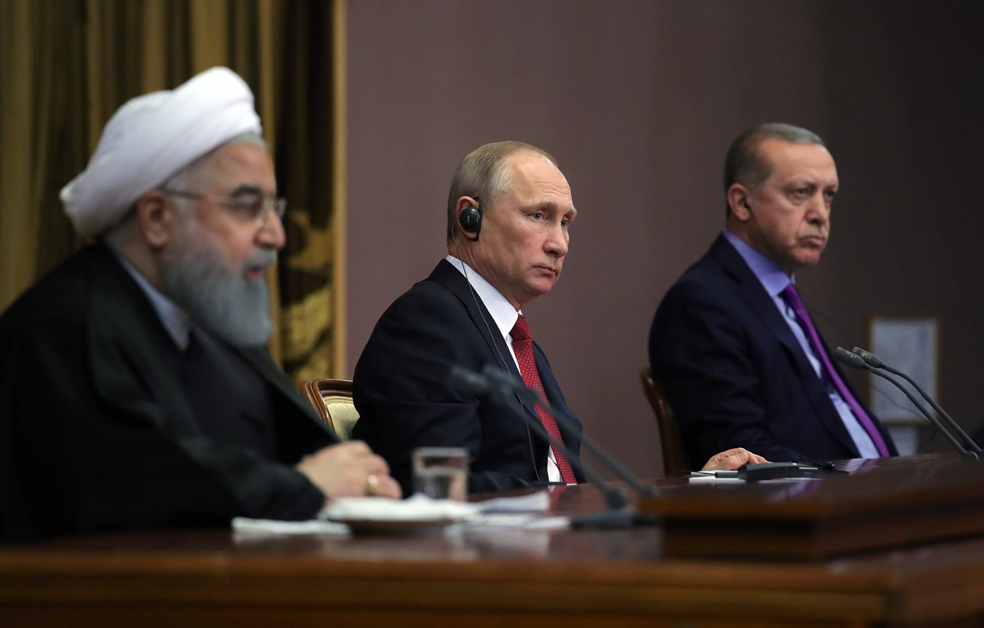 End of Syria War Nears as Sochi Meeting Unites Iran, Russia, Turkey
