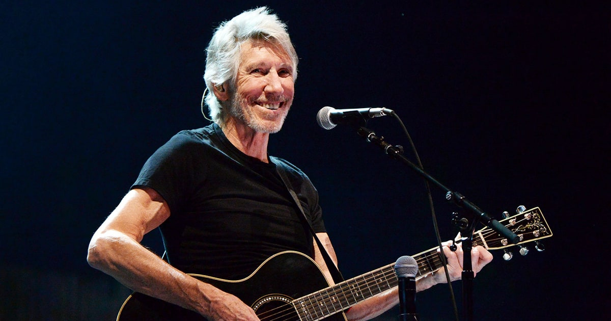 Roger Waters Comes out Fighting for Palestine on North America Tour