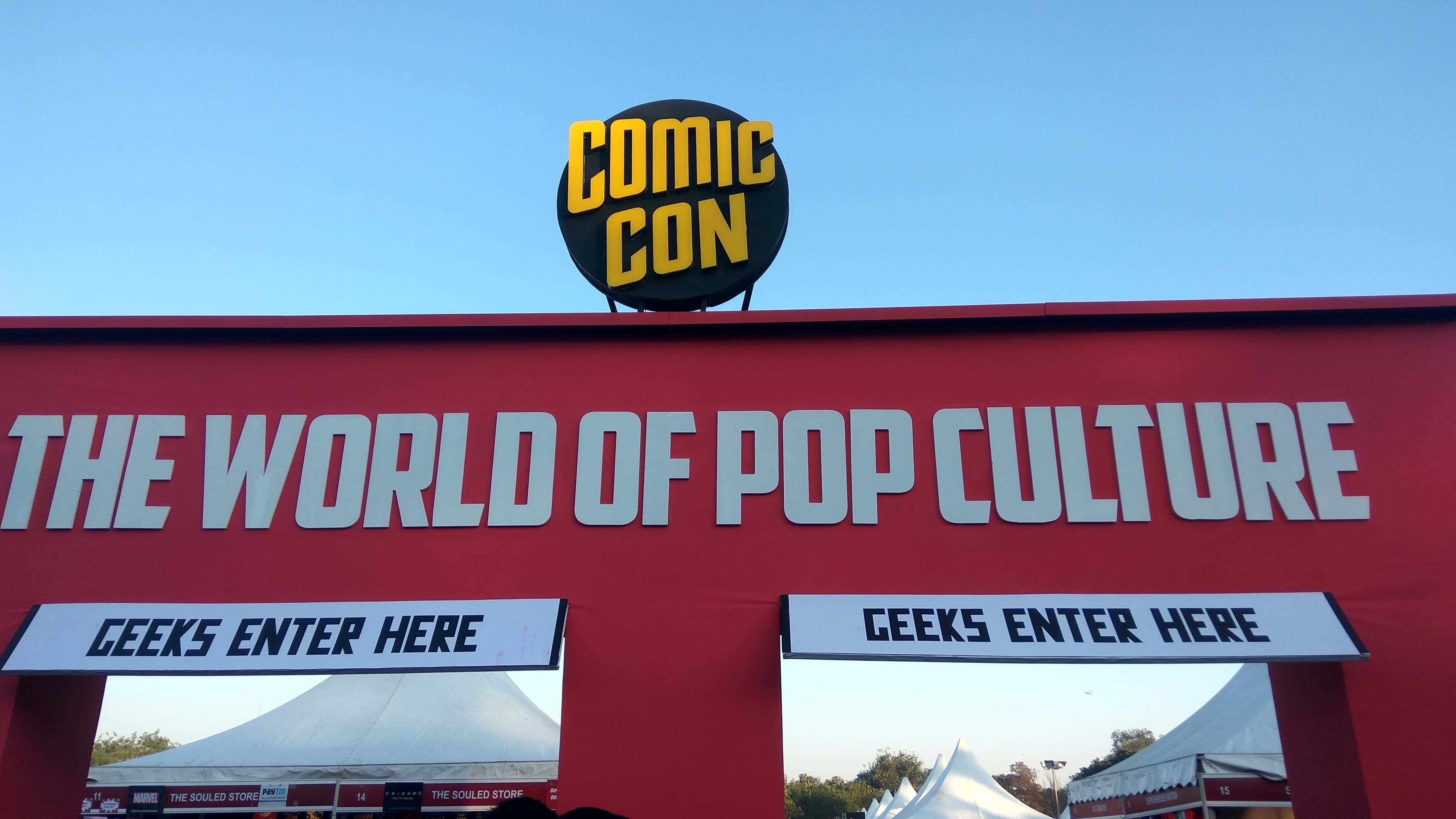 Another Rendition of Fantasies and Fiction – Delhi Comic Con