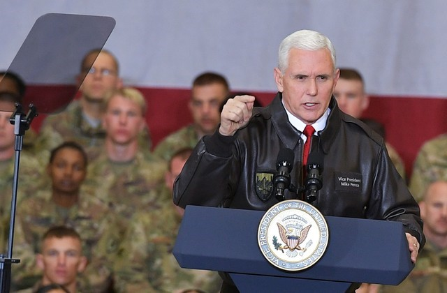 Pence Visits Afghanistan, Says US Will 'See This Through'