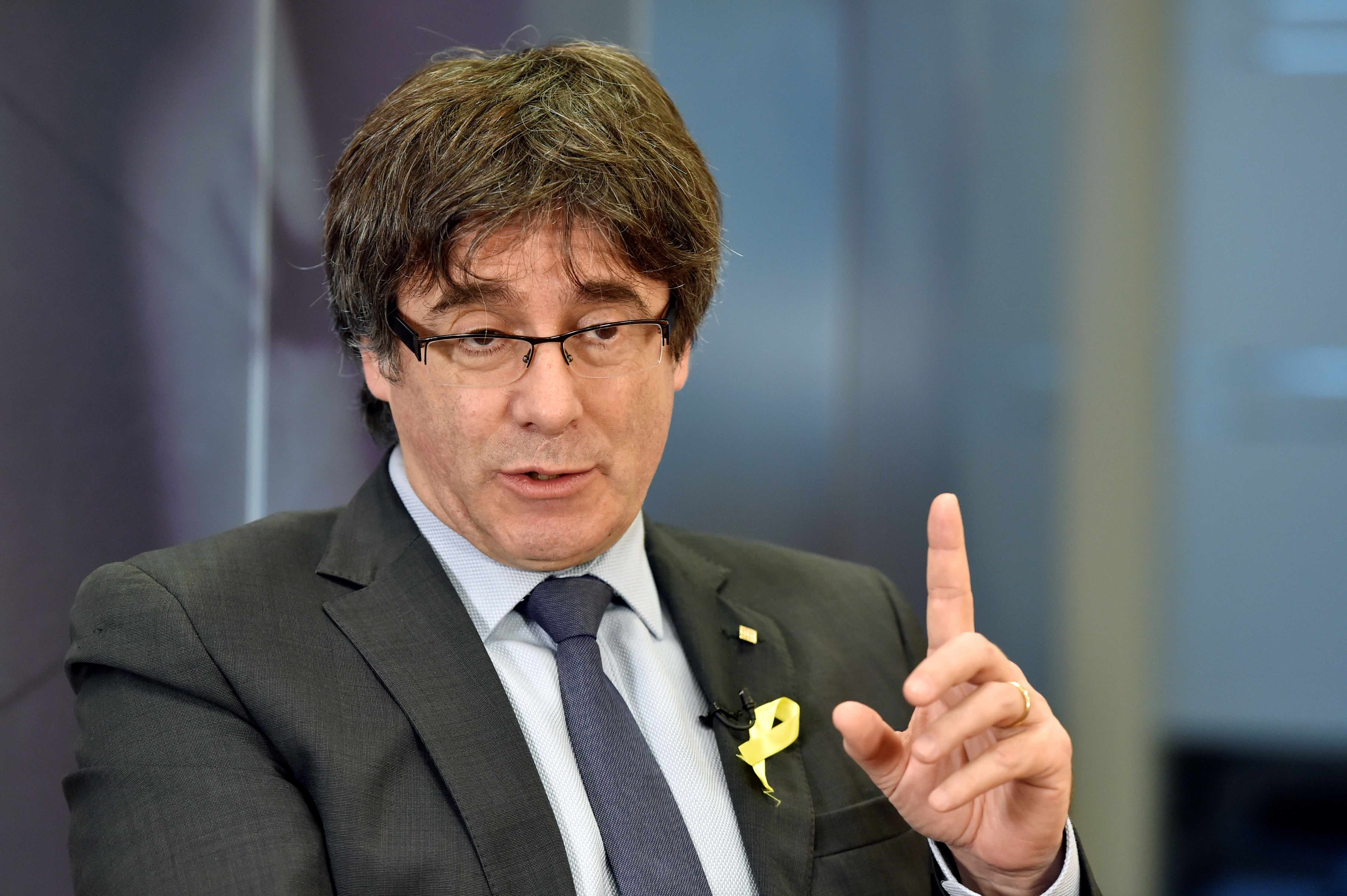 Catalan Leader Tells Spain He Wants to Come Back