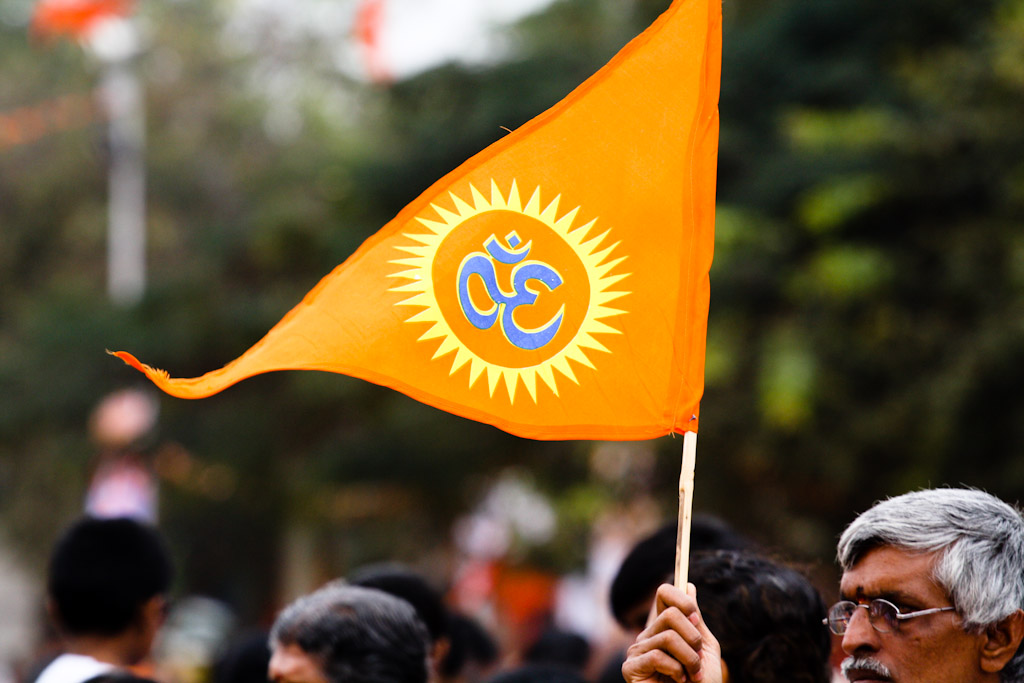 Shambhulal is the middle-class protagonist of Hindutva who destroys our secular dreams and our plural worlds. Credit: Bharath Joshi/Flickr (CC BY-NC-ND 2.0)