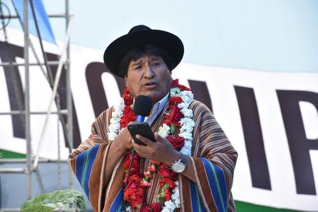 Bolivia's Morales Says He'll Seek Fourth Term, Spurs Protests