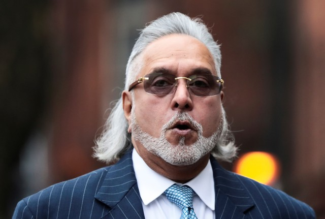Vijay Mallya arrives at Westminster Magistrates Court in London, Britain, December 4, 2017. Credit: Reuters/Simon Dawson