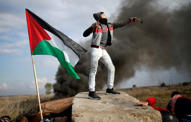 Four Palestinians Killed, 160 Wounded by Israeli Troops