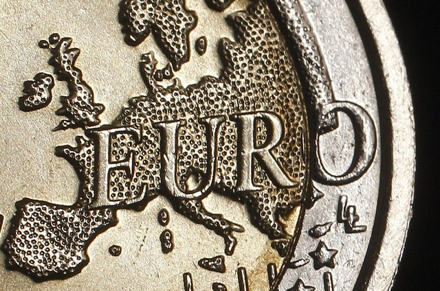 The map of Europe is featured on the face of a two Euro coin seen in this photo illustration taken in Rome, December 3, 2011. Photo illustration taken December 3, 2011. Credit: Reuters/Tony Gentile