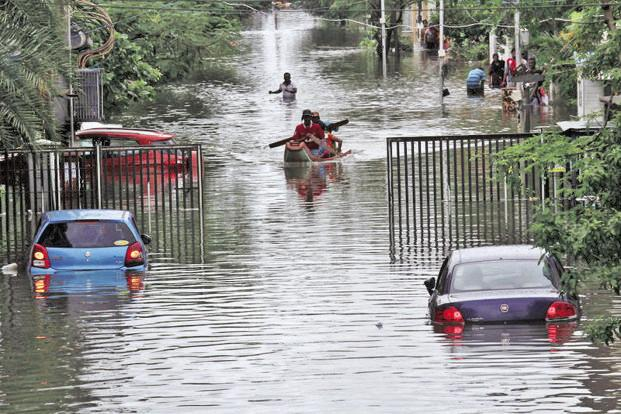 Four Killed Due to Heavy Rains in Southern Tamil Nadu