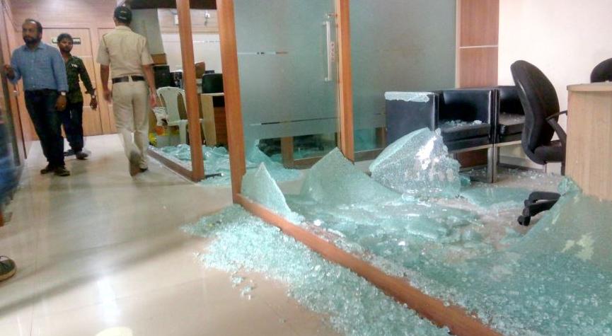 Mumbai Congress Office Vandalised as MNS-Sanjay Nirupam Feud Worsens