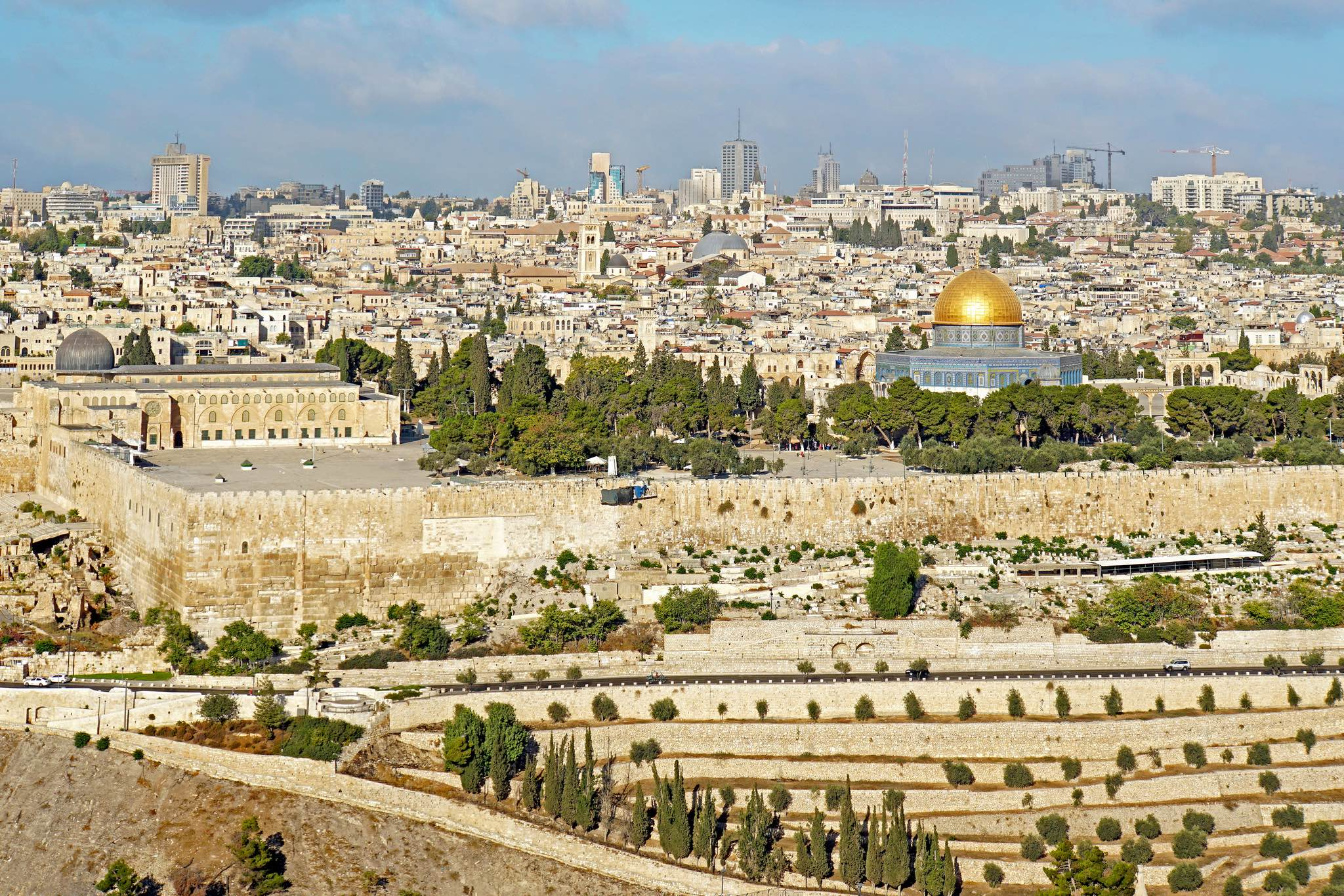 A view of Jerusalem. Credit: Dennis Jarvis/Flickr CC BY-SA 2.0