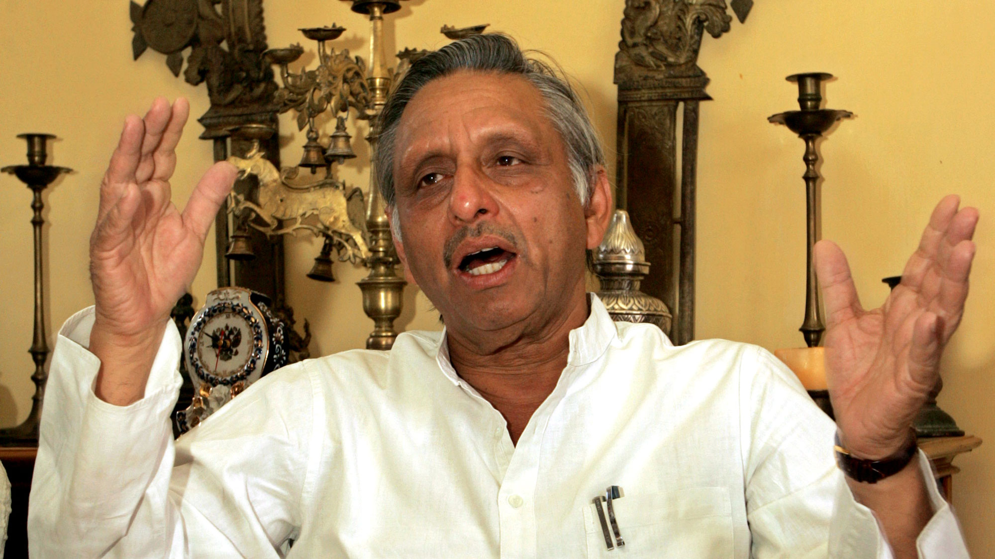 Congress leader Mani Shankar Aiyar. Credit: Reuters