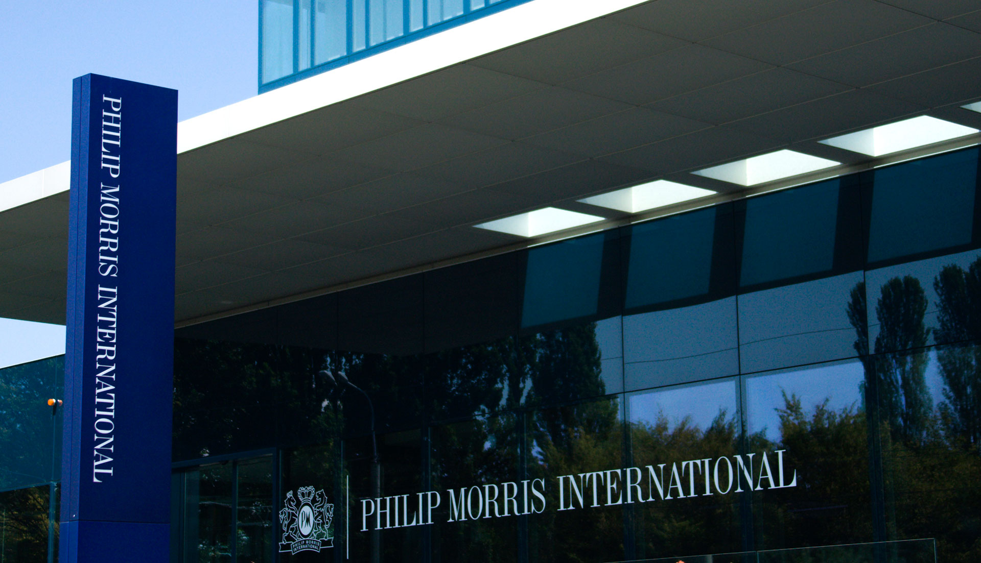Philip Morris International's operational headquarters. Credit: Reuters/Denis Balibouse/File Photo