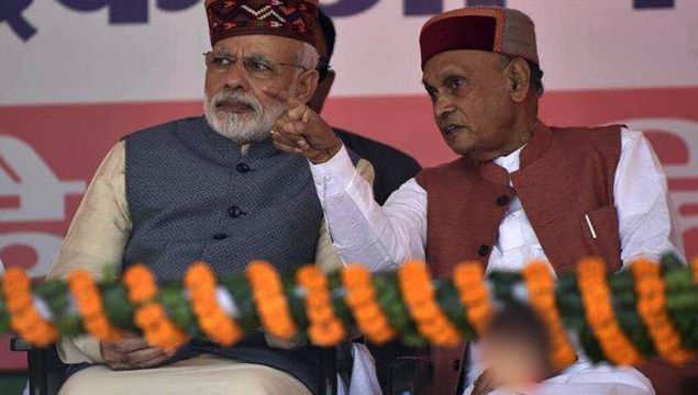 BJP Sweeps Himachal Pradesh Even as CM Candidate Dhumal Loses His Election