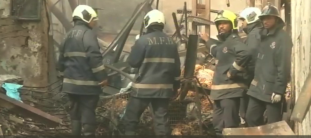At Least 12 Killed in Fire in Mumbai's Khairani Road