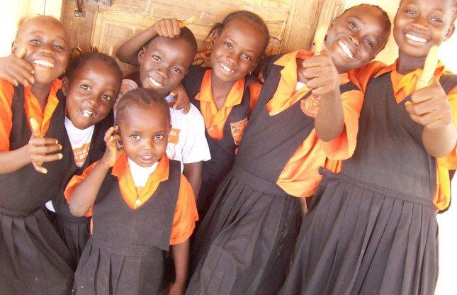 Students at CAMES, Ghana. Credit: Karrus Hayes