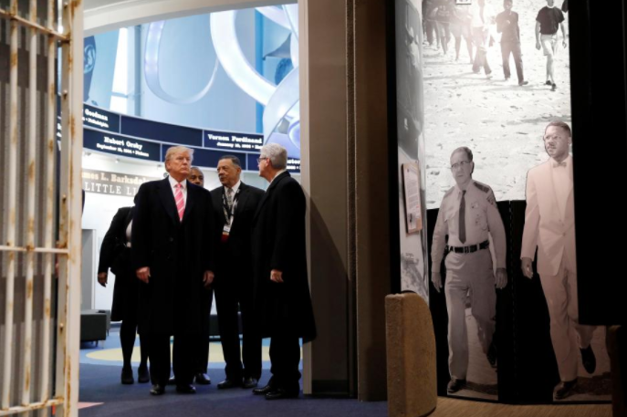 US President Trump Attends Civil Rights Museum Opening; Black Leaders Stay Away