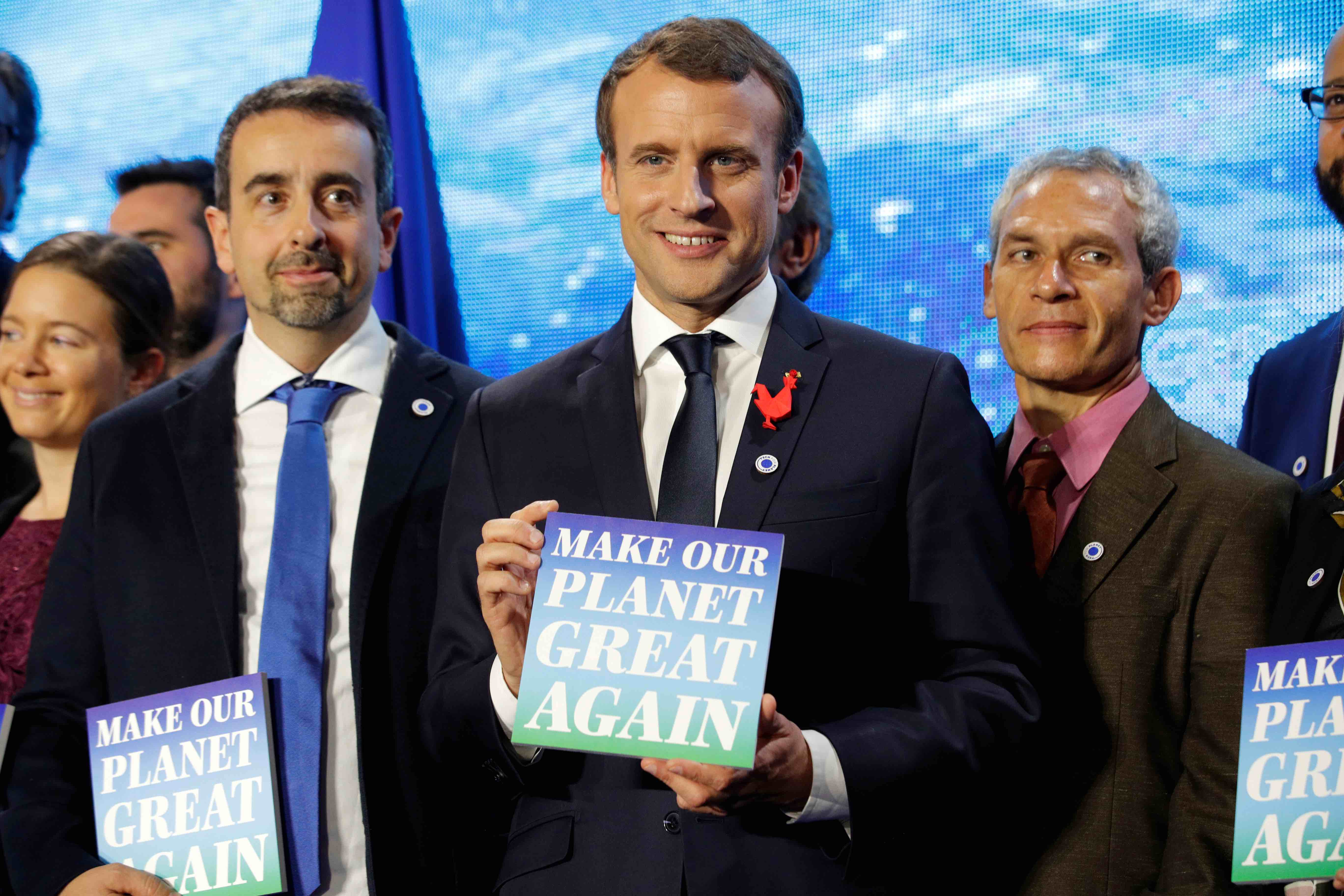 France: President Macron Awards Climate Grants to US-Based Scientists on Summit Eve