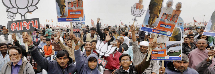 To Win Gujarat Again, Hindu Consolidation Is BJP's Only Remaining Strategy