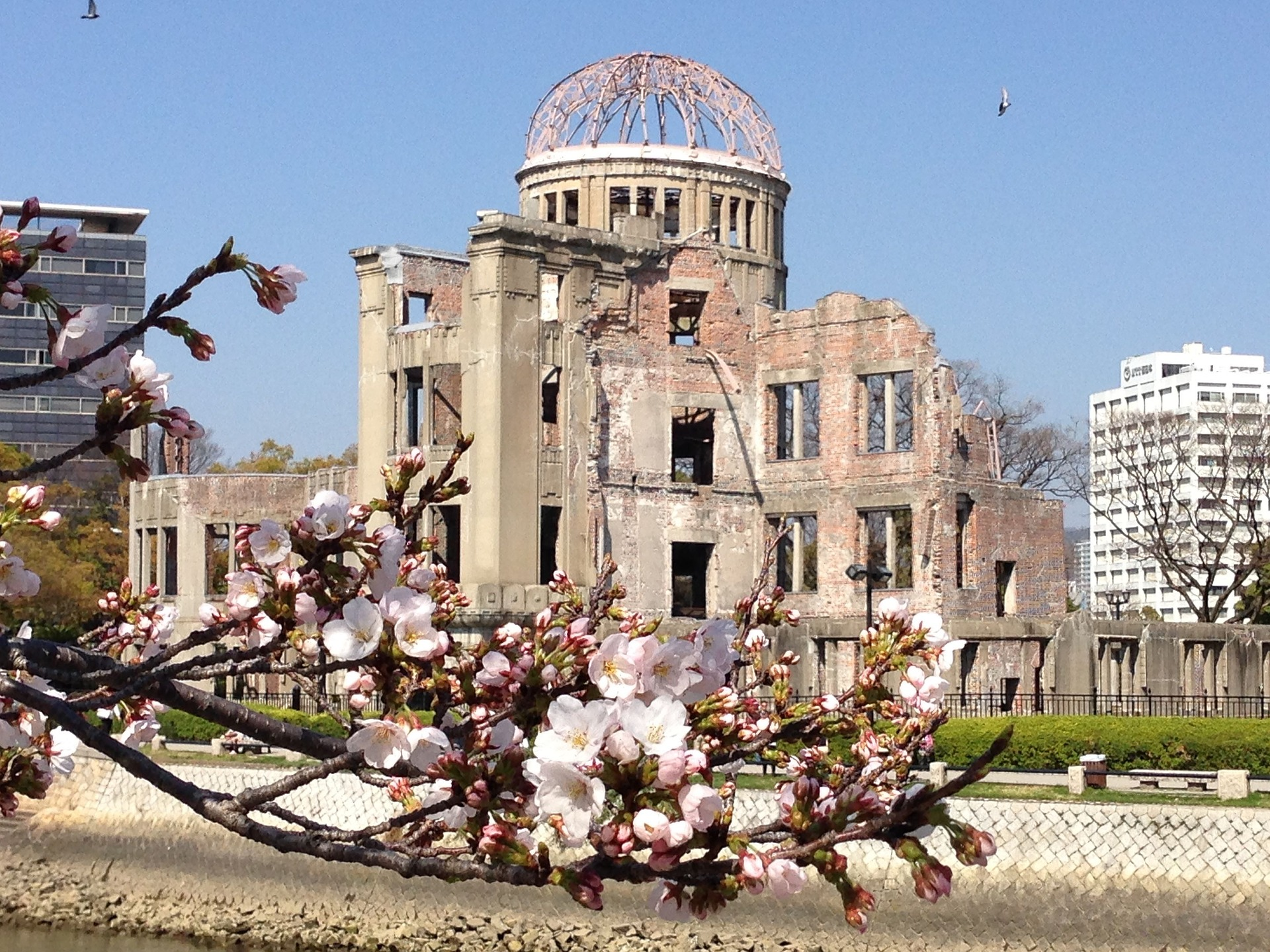 Genbaku Dome, the peace memorial in Hiroshima for the people killed in the atomic bombing of the city on August 6, 1945. Credit: neil137/pixabay
