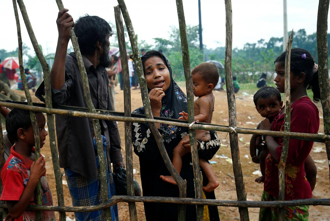 Rohingya Refugees Face Fresh Ordeal in Crowded Camps