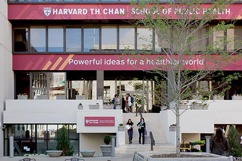 Harvard T.H. Chan School of Public Health. Credit: www.hsph.harvard.edu