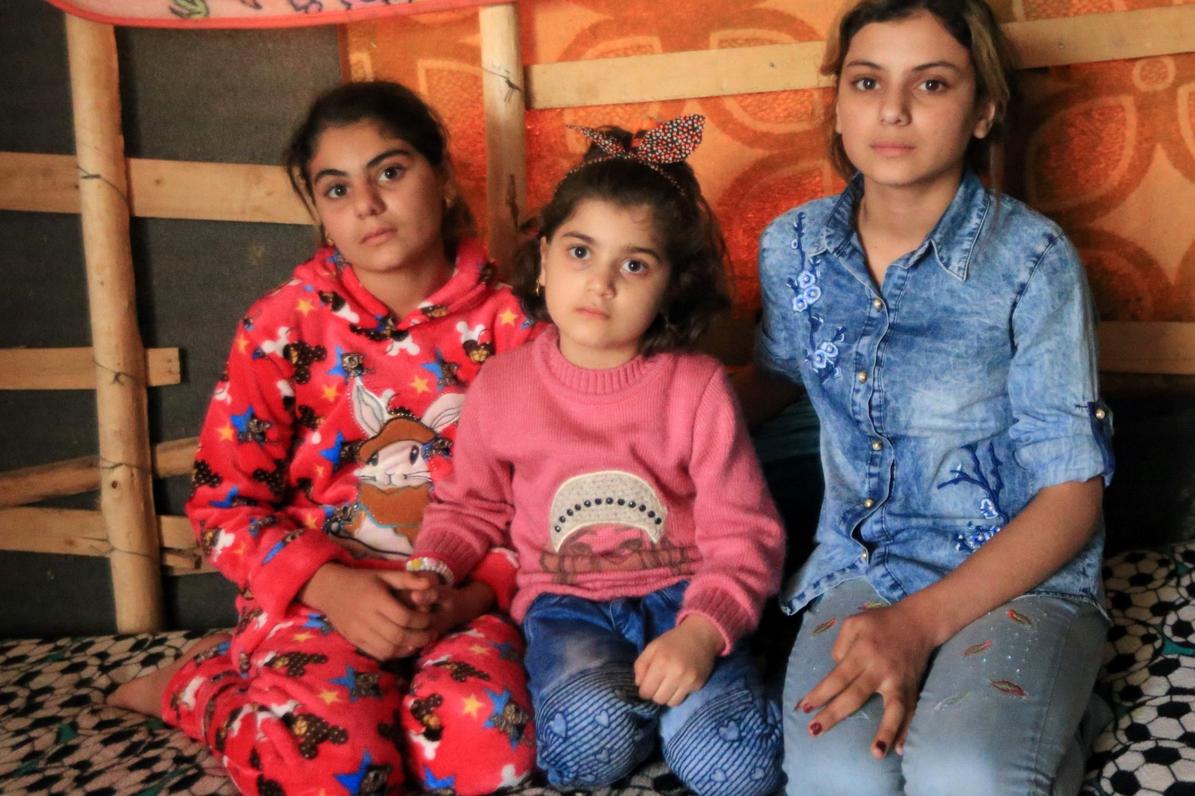 Yazidi Sisters in ISIS Captivity Reunite After Three Years